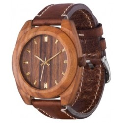 AA Wooden Watches S3 Brown